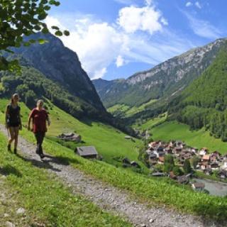 Eine tolle Wanderung durch eine fantastische Landschaft im Isenthal