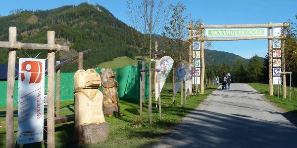 Eingang zum Abenteuerberg Wurbauerkogel