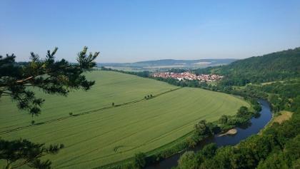 Creuzburg und der Werratalradweg
