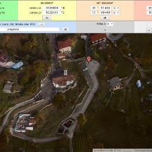Koordinaten des Parkplatzes (geoplaner.de)