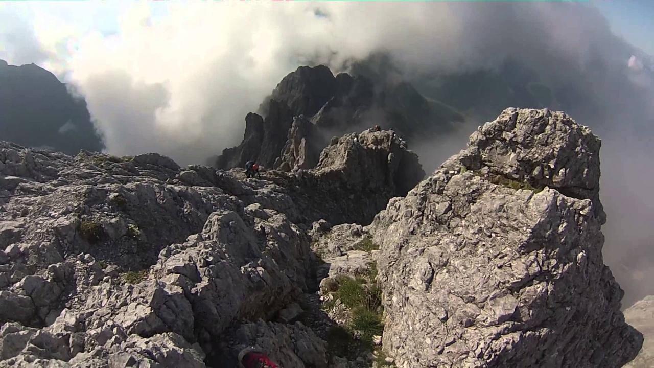 Klettersteig Königsjodler : Klettersteig königsjodler alpenverein südtirol bozen