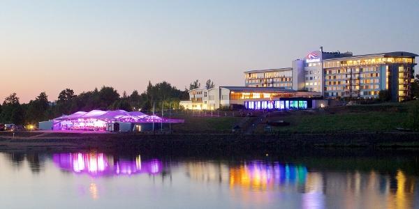 Seestern Panorama-Bühne am Bio-Seehotel