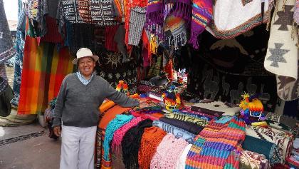 Plaza de los Ponchos, Otavalo Market