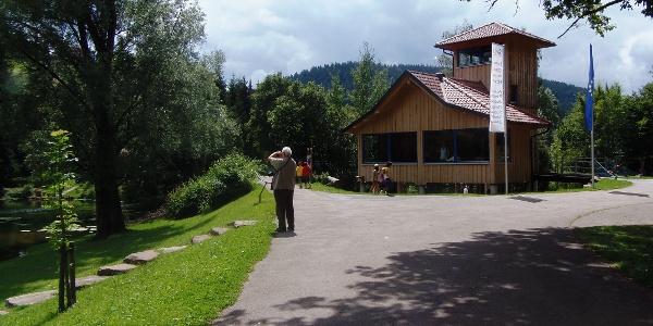 Infopavillon Eisvogelpfad