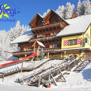 Gasthof Moasterhaus im Winter