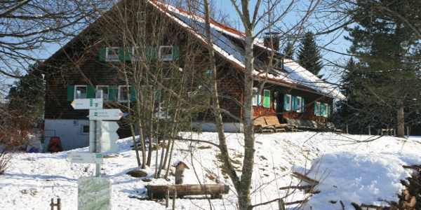 Schwandalpe im Winter