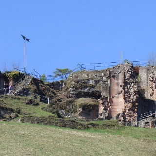 Die Burgruine Neidenfels