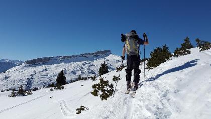 Skitour am Ifen, Allgäu