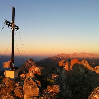 Kammspitze 2.139 m / Sonnenaufgang