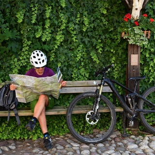 Andare in bici a Nalles