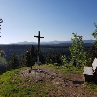 Aussicht vom Kapitelsberg (Tanne)