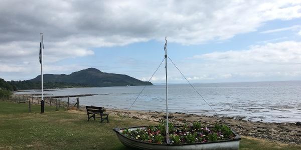 Whiting Bay and Holy Isle
