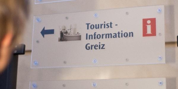 Wegweiser Tourist-Information