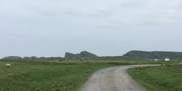 """The """"Sleeping Giant"""" in the distance"""