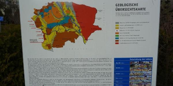 Lavamünd-Infotafel Geologischer Lehrpfad