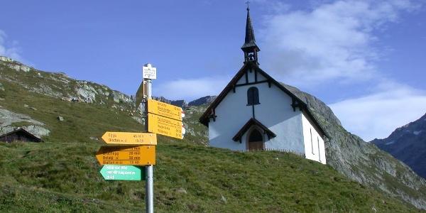 Kapelle Aletschbord