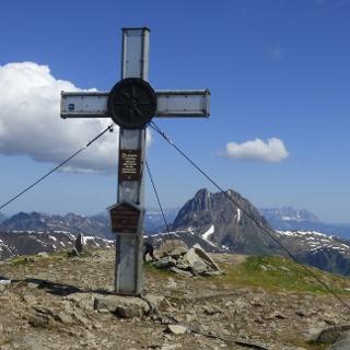 Gipfel Wildkogel auf 2224m