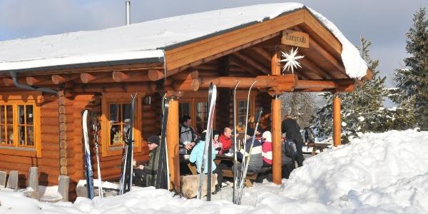 Beerenhütte im Winter