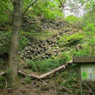 Basaltprismenwand am Gangolfsberg