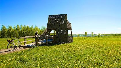 Pohjanranta bird watching tower