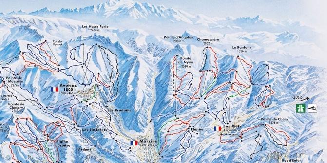 Avoriaz Ski Resort ADAC Skiguide