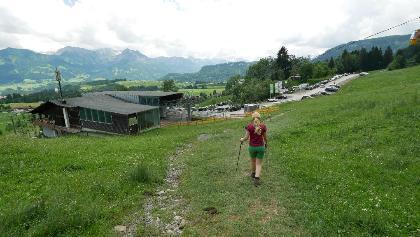 Talstation der Hörnerbahn Bolsterlang
