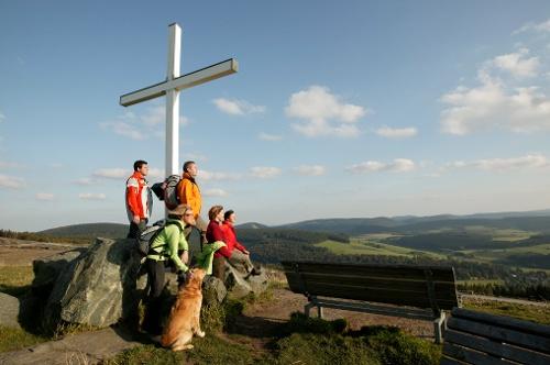Nog hoger gaat het niet - grensregio tussen Westfalen en Waldeck, startpunt in Winterberg-Niedersfeld