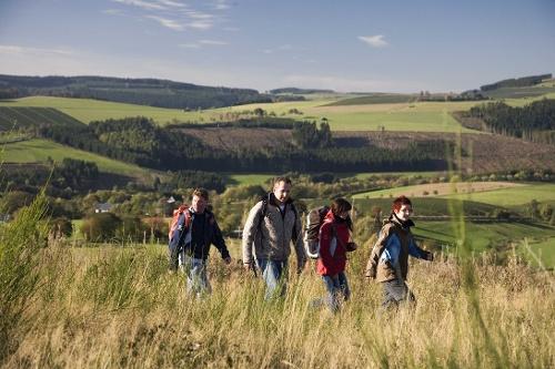 Kultur und Panoramen - Aus dem Negertal zum Hohen Hagen, Start in Winterberg-Siedlinghausen