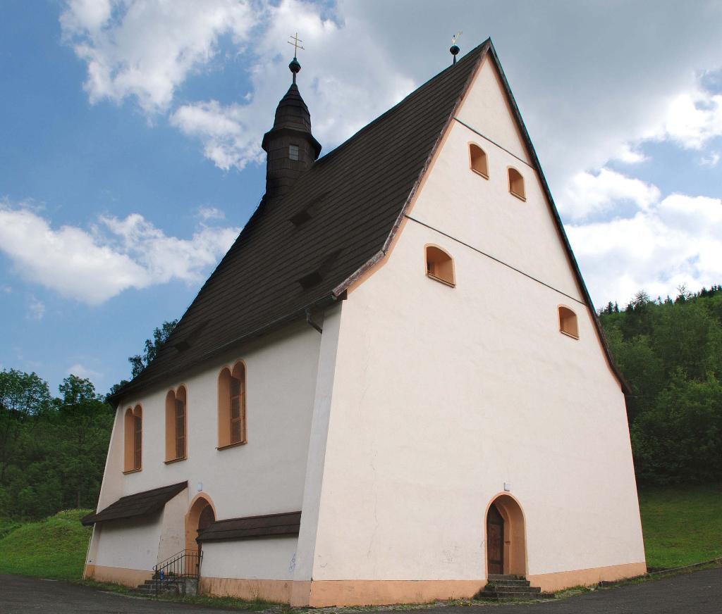 Historische Altstadt St. Joachimsthal - Allerheiligen Spitalkirche