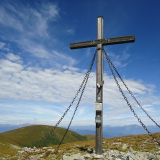 Gipfelkreuz: Gleinalm-Speikkogel