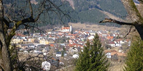 Blick auf Bad St. Leonhard