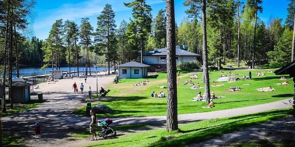 Café Kuusijärvi, all-season outdoor recreational center ...