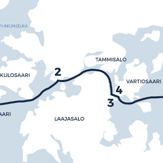 The Eastern Archipelago route