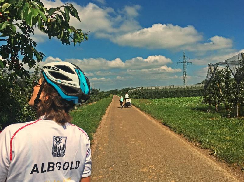 Renchtal Radtour 1 - Familientour (große Runde)
