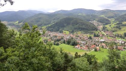 Blick vom Moserstein auf Gutach