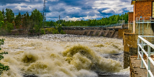 Tainionkoski power plant in the River Vuoksi