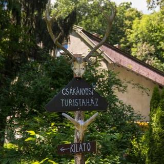 A Csákányospusztai turistaháznál történt a nyomvonal-változás