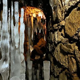 Rudní revír Horní Blatná - Ledové jáma