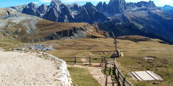 Vista dal Rifugio Bolzano