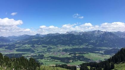 Hörner Panorama Tour ab Bolsterlang