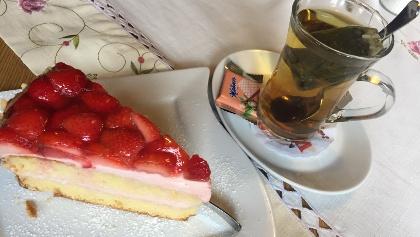 Tee und Kuchen