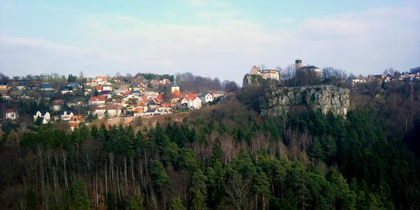 Burg und Stadt Hohenstein