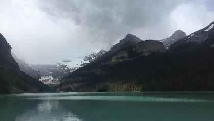 The stunning Lake Louise