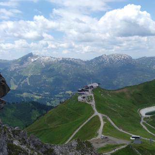 Bergstation Kanzelwandbahn
