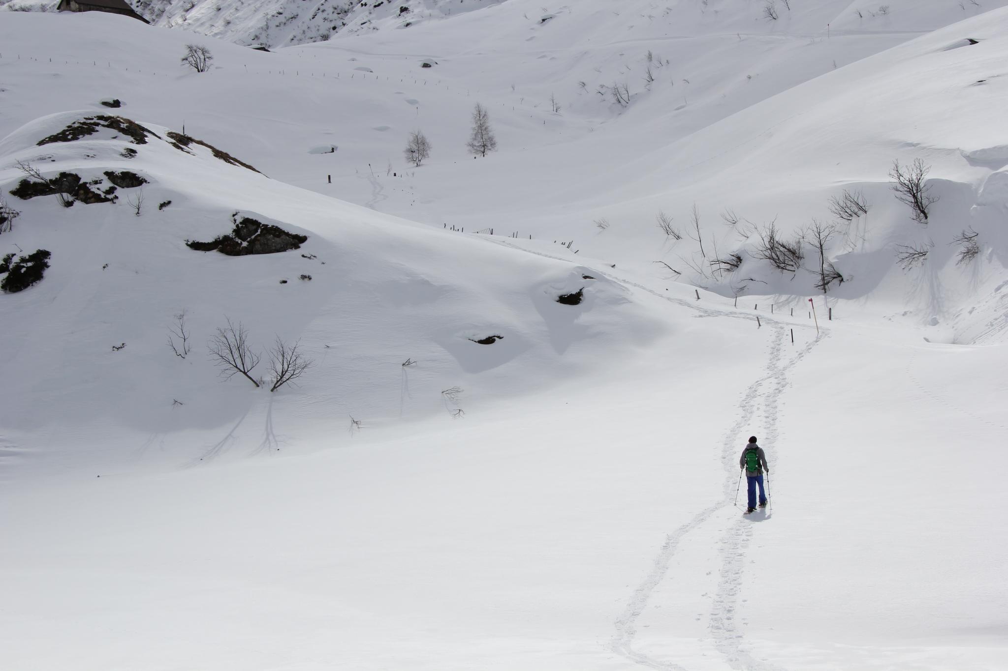 Schneeschuhtour Unteralp