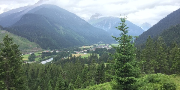 The heart of the Lech Valley