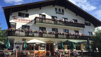 The fabulous Tirolerhof Restaurant in Warth