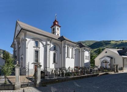 Pfarrkirche, Andermatt