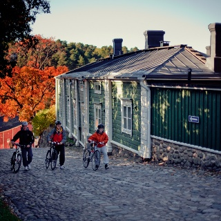 Cycling in Porvoo