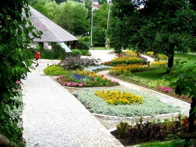 Kurpark von Bad Kötzting